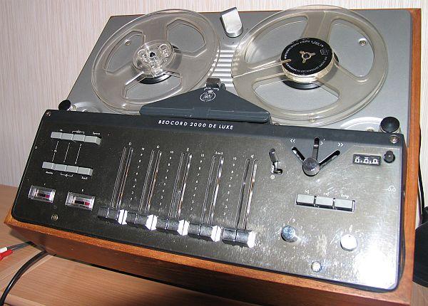 Bang  U0026 Olufsen Beocord 2000 Deluxe
