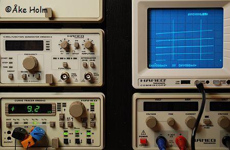 SM5CBW's Hameg Modules - HM8042